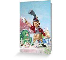The Hatter Greeting Card