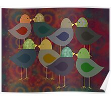 Chatter Birds Poster