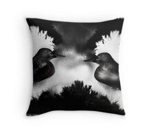 Wrens of INK Throw Pillow