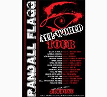 Randall Flagg World Tour- 80s Metal/Rock Style Unisex T-Shirt
