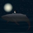 Midnight Swim by Brandon  Dover