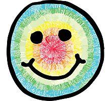 Tie Dye Smiley  Photographic Print