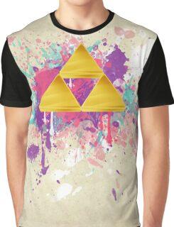 Triforce Splash Graphic T-Shirt