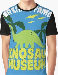Dinosaur Museum Graphic T-Shirt