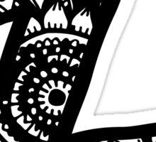 Z Doodle Letter Sticker