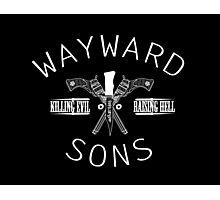 Wayward sons Photographic Print