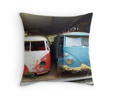 Kombi Pair in Shed Throw Pillow