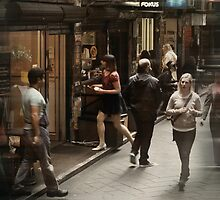 Streets of Melbourne 9 by Trish Woodford