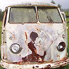 Old Rusty VW Kombi by Bami