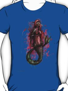 Zombie Princesses - Ariel (with background) T-Shirt