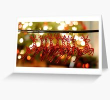 Won't you guide my sleigh tonight? Greeting Card