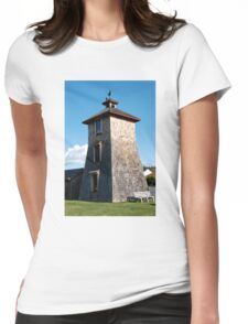 Historic Water Tower, Lopez Island, Washington Womens Fitted T-Shirt