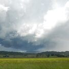 Storm over Kyogle NSW by frenzix