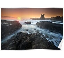"""Cathedral Sunrise"" ∞ Kiama, NSW - Australia Poster"