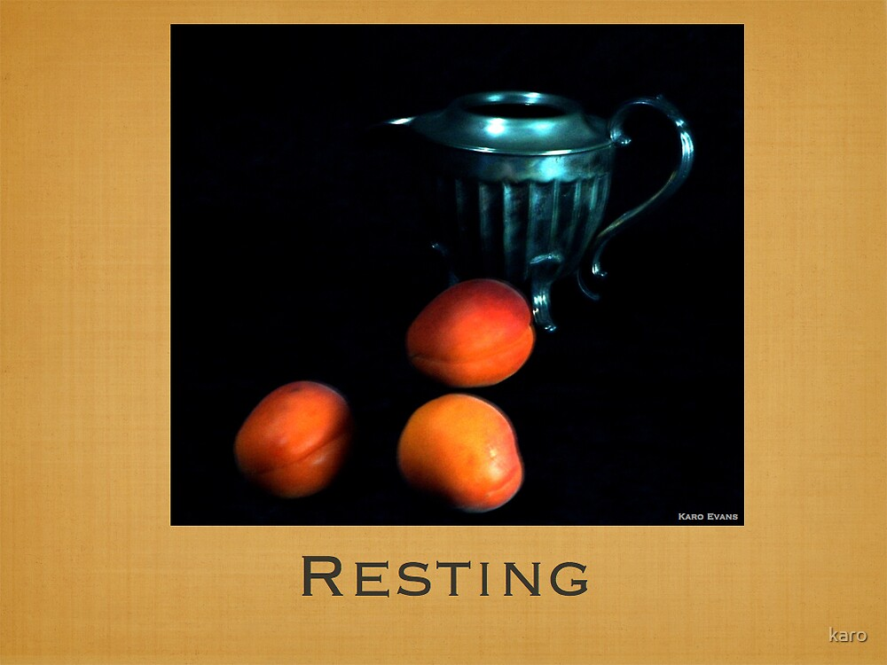 Resting by karo