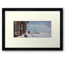 White Christmas Framed Print