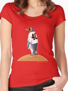 Bumgarner Penguin Women's Fitted Scoop T-Shirt