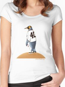Bumgarner Penguin Women's Fitted Scoop T-Shirt