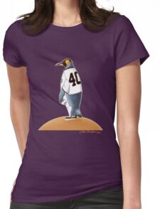 Bumgarner Penguin Womens Fitted T-Shirt