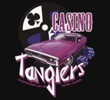 Tangiers Hotel and Casino T-Shirt by theycutthepower