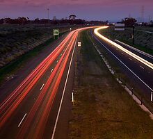 Freeway traffic - Geelong by Hans Kawitzki
