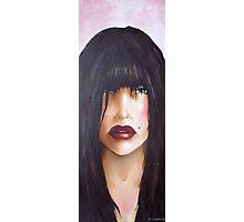 lips Photographic Print