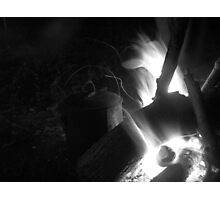 Ol' Billy's on the Boil Photographic Print