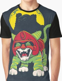 Battle Kitty's Mighty RAWR!  Graphic T-Shirt