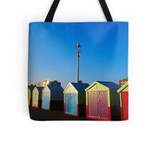 Hove Beach Huts Tote Bag