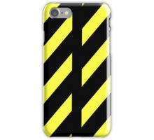Yellow and black iPhone Case/Skin