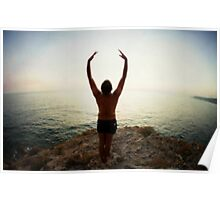 Hur Yoga 7 in the Beach, Mallorca Poster
