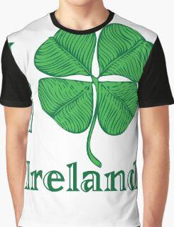 I LOVE IRELAND  T-shirt Graphic T-Shirt