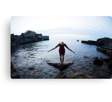 Magic wings, Yoga 7  Mallorca Canvas Print