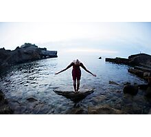 Magic wings, Yoga 7  Mallorca Photographic Print