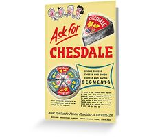 Chesdale Cheese Greeting Card