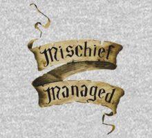 Mischief Managed Banner One Piece - Short Sleeve