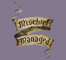 Mischief Managed Banner Kids Tee