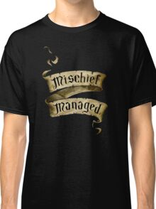 Mischief Managed Banner Classic T-Shirt