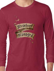 Mischief Managed Banner Long Sleeve T-Shirt
