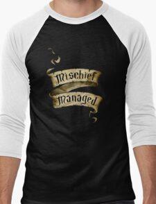 Mischief Managed Banner Men's Baseball ¾ T-Shirt