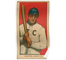 Benjamin K Edwards Collection Hannifin Jersey City Team baseball card portrait Poster