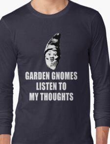 Garden Gnomes (white) Long Sleeve T-Shirt