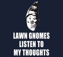 Lawn Gnomes (white) by MissCake