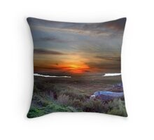 View over Blakbney Point. Throw Pillow