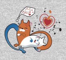 funny cats Baby Tee