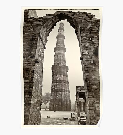 The Qutb Minar Poster
