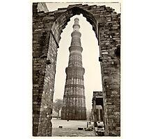The Qutb Minar Photographic Print