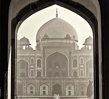 The Humayun's tomb by Neha Singh