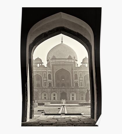 The Humayun's tomb Poster