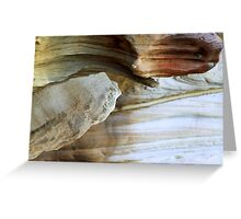 north head manly - two heads Greeting Card